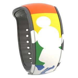 Disney MagicBand 2 Bracelet - Rainbow Collection - Mickey Mouse