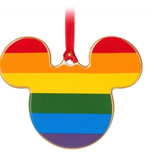Disney Ornament - Rainbow Collection - Mickey Icon