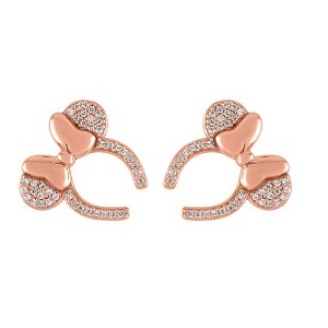 Disney Rebecca Hook Earrings - Minnie Mouse Headband