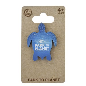 SeaWorld Pin - Park to Planet - Sea Turtle
