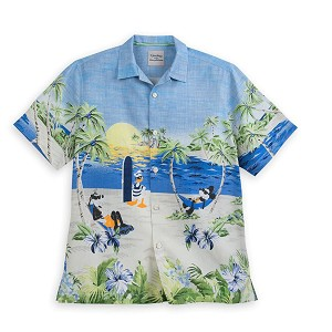 Disney Tommy Bahama Silk Shirt - Mickey Mouse & Friends