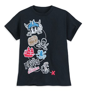 Disney Boys Shirt - Pirates of the Caribbean - Mickey Mouse