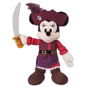 Disney Plush - Minnie Mouse Pirates of the Caribbean - 12''