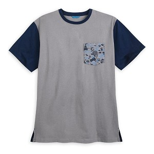 Disney Men's Shirt - Walt Disney World Resort Icons & Logos - Pocket Tee
