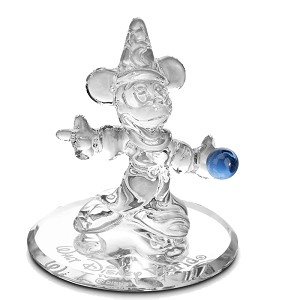 Disney Arribas Glass Figurine - Sorcerer Mickey