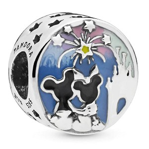 Disney Pandora Charm - Mickey and Minnie Fireworks - Happily Ever After