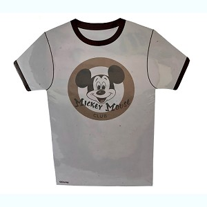 Disney Magnetic Notepad - Mickey Mouse Club T-Shirt