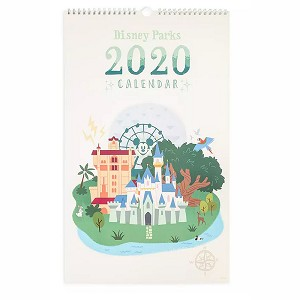 Disney Poster Wall Calendar - 2020 Disney Parks Attraction Posters