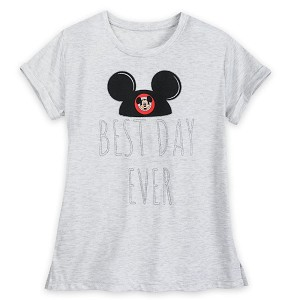 Disney Women's Shirt - Mickey Mouse - Best Day Ever