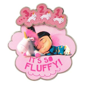Universal Pin on Pin - Despicable Me Unicorn ''It's So Fluffy!''