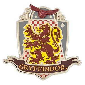 Universal Pin - Harry Potter - Gryffindor Quidditch Crest