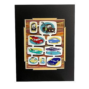 Disney Deluxe Artist Print - New Wheels by Michelle Bickford