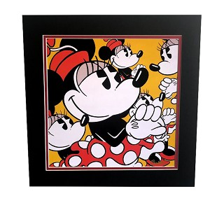 Disney Fine Art - Lithograph on Paper - Many Minnies by Trevor Carlton