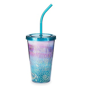 Disney Tumbler with Straw - The Girl Who Has Everything - Little Mermaid