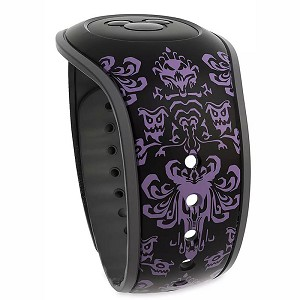 Disney Magicband 2 Bracelet - The Haunted Mansion Wallpaper - Black