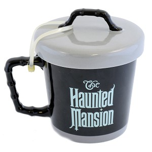 Disney Coffee Cup - Haunted Mansion Hatbox Ghost - Heat Sensitive Decal