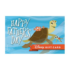 Disney Collectible Gift Card - Crush'n Fatherhood - Father's Day
