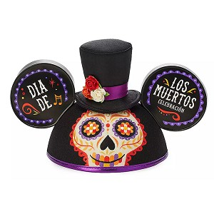 Disney Mickey Mouse Ear Hat - Dia De Los Muertos - Day of the Dead