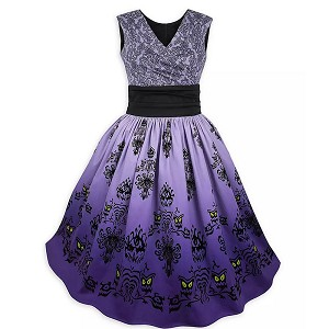 Disney Dress Shop Dress - Haunted Mansion Wallpaper