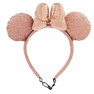 Disney Minnie Mouse Ear Headband for DOGS - Rose Gold