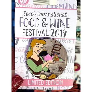Disney Pin - Cinderella - Epcot Food & Wine Festival 2019 - Limited Edition