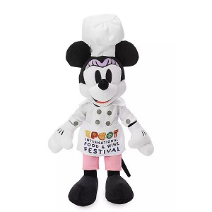 Disney Plush - Chef Minnie Mouse - Epcot Food & Wine Festival 2019