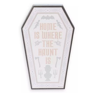 Disney Magnetic Notepad - The Haunted Mansion - Home Is Where The Haunt Is - Coffin