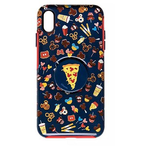 Disney OtterBox iPhone XS Max Case w/ Pop Sockets Pop Grip - Disney Parks Food