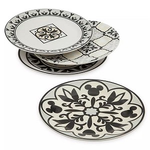 Disney Tidbit Plate Set - Mickey Mouse Homestead Collection