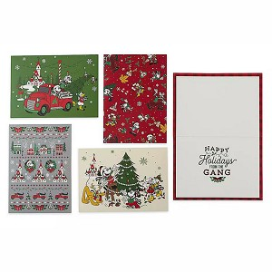 Disney Holiday Greeting Cards - Mickey Mouse & Friends - Yuletide Farmhouse
