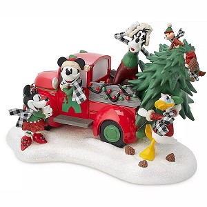 Disney Figurine - Mickey Mouse & Friends Holiday - Yuletide Farmhouse