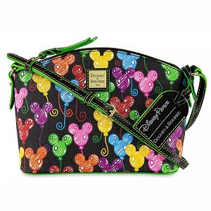 Disney Dooney & Bourke Bag - Mickey Mouse Balloons - 10th Anniversary - Crossbody