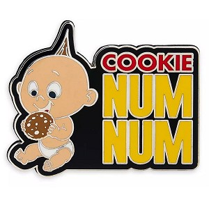 Disney Pin - Jack Jack - Cookie Num Num