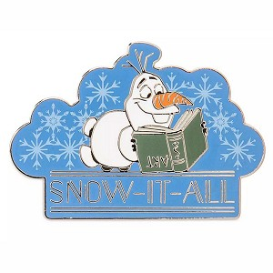 Disney Pin - Olaf - Snow It All - Frozen 2
