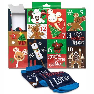 Disney Adult Socks - Yummiest Time of the Year - 12 Days of Socks