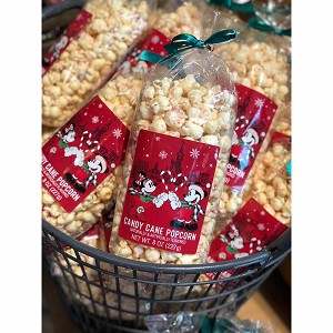 Disney Candy and Snacks - Holidays 2019 - Candy Cane Popcorn