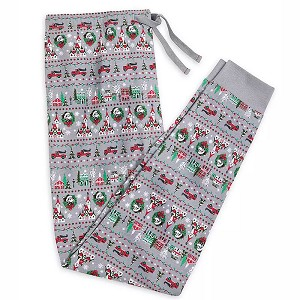 Disney Mens Lounge Pants - Mickey Mouse Holiday