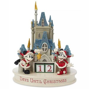 Disney Holiday Countdown Calendar - Mickey & Minnie - Cinderella's Castle
