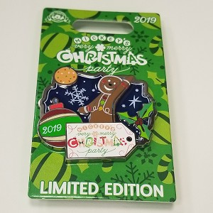 Disney Pin - Mickey's Very Merry Christmas Party - Limited Edition Gingerbread Man