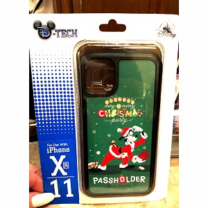 Disney iPhone 6 plus / 7 plus / 8 plus Phone Case - Mickey's Very Merry Christmas Party - Goofy PASSHOLDER