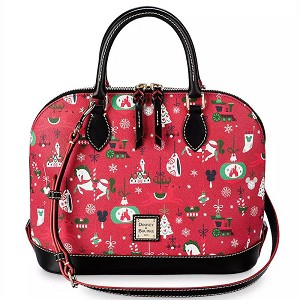 Disney Dooney & Bourke Zip Satchel Bag - Disney Parks Holiday