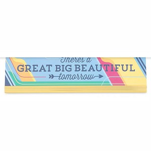 Disney Nameplate - There's A Great Big Beautiful Tomorrow