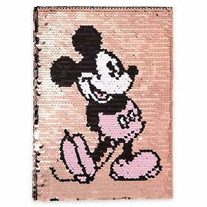 Disney Journal - Mickey Mouse - Reversible Sequin - Briar Rose Gold