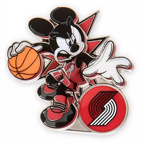 Disney Pin - Mickey Mouse NBA Experience Pin – Portland Trail Blazers