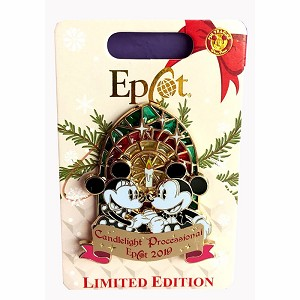 Disney Pin - Candlelight Processional - Limited Edition