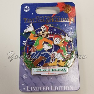 Disney Pin - Festival of the Holidays 2019 - Disney Vacation Club Exclusive
