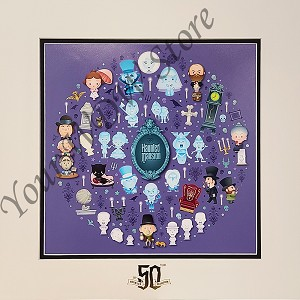 Disney Deluxe Artist Print - Haunted Mansion of Cute - Jerrod Maruyama