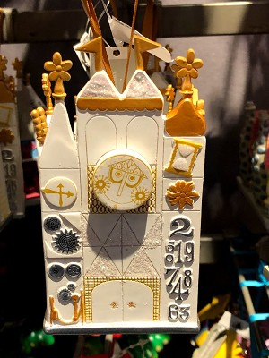 Disney Ornament - Disneyland's It's A Small World - Tiny Town Collection
