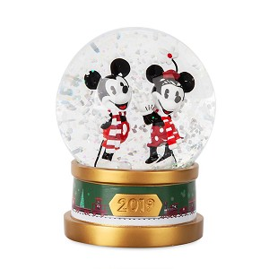 Disney Snowglobe - Mickey and Minnie Holiday - 2019