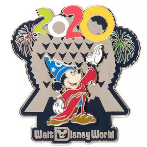 Disney Pin - Sorcerer Mickey Mouse at Spaceship Earth - Walt Disney World 2020